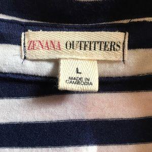 Sleeveless Stripe Shirt